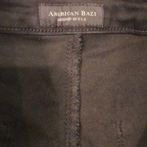 American Bazi Jeans - American Bazi black distressed jeans
